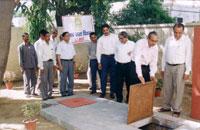 Dedication of Rain Water Harvesting Project
