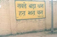 Our Awareness Programs - Wall Painting