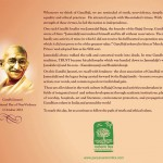 Gandhi English